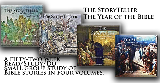A fifty-two Read/Study/Do small group study of Bible stories in four 3 month volumes. Includes a plan to read the Bible through in one year.